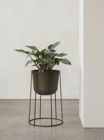 Houseplants Menu Green Steel