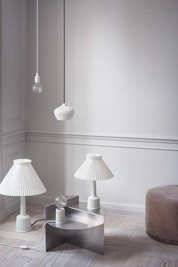 Livingroom Lyngby Porcelain White Ceramic