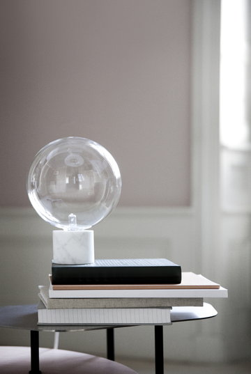 Puntilavoro Angololettura &Tradition Bianco Nero Marmo Marble Light