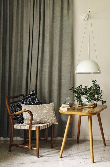 Houseplants Readingcorner Details Saana ja Olli Beige Black