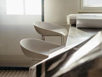 Työpisteet Hay Valkoinen Metalli About a Chair