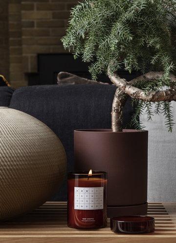 Natale Candele Ferm Living Marrone Rosso Ceramica