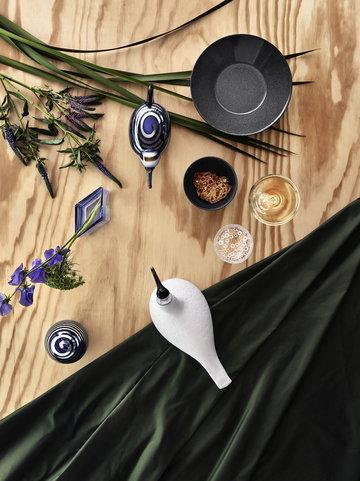 Sisustusideat Iittala Valkoinen Harmaa Sininen Monivärinen Lasi Keramiikka Birds by Toikka Ruutu