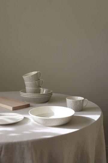 Tavola Arabia Bianco Ceramica