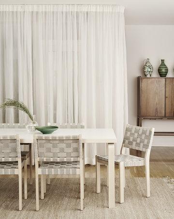 Ruokailutilat Artek Harmaa Valkoinen Koivu Aalto pöydät