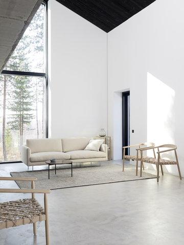 Livingroom Adea Nature White Ash Oak Wood