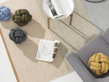 Olohuoneet Sisustusyksityiskohta Design House Stockholm Valkoinen Harmaa Keltainen Sininen Vihreä Beige Teräs Villa Tablo
