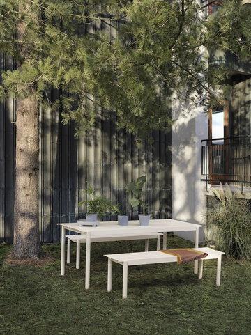 Viherkasvit Ulkokalusteet Muuto Keltainen Valkoinen Villa Teräs