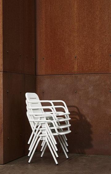 Ulkokalusteet Terassi Ray Woud Valkoinen Alumiini