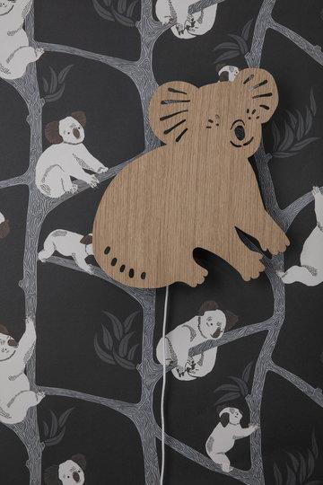Lastenhuoneet Ferm Living Luonnonväri Vihreä Puu Paperi