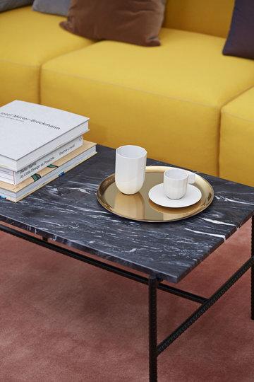 Salotti Hay Grigio Oro Nero Ceramica Acciaio inox Metallo