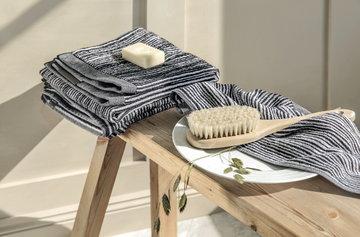 Bathroom Marimekko Black Cotton