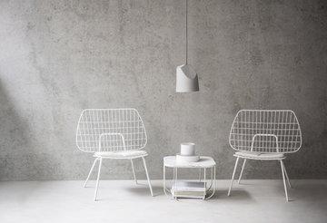 Salotti Menu Grigio Bianco Ceramica Metallo