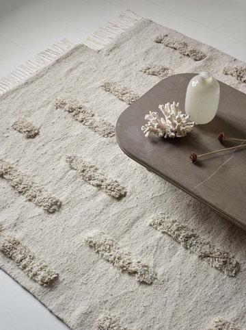 Livingroom Sera Helsinki White Wool