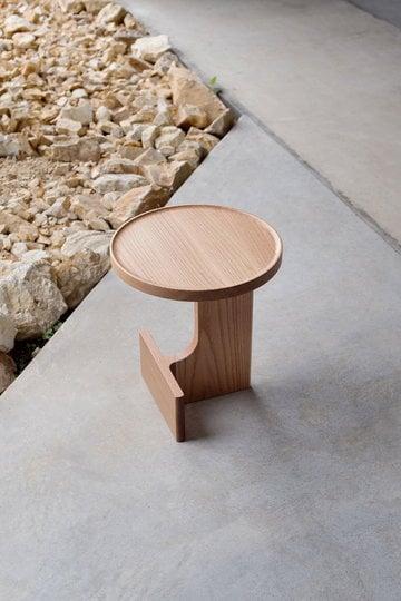 Olohuoneet Eteinen pöydät Ariake Luonnonväri Tammi