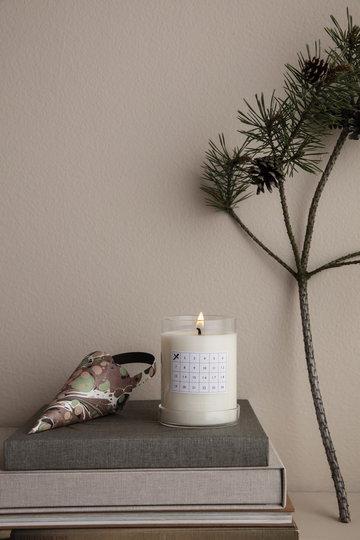 Natale Candele Ferm Living Bianco