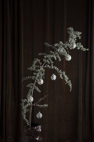 Joulu Ferm Living Ruskea Sininen Vihreä Lasi