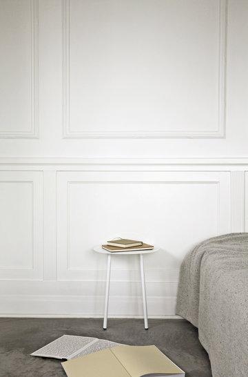 Lukunurkka Makuuhuone Menu Valkoinen Teräs Yeh Wall