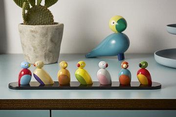 Dettaglioarredamento Kay Bojesen Turchese Multicolore Faggio Oggetti in legno