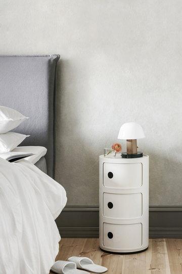 Makuuhuone Kartell &Tradition Valkoinen Ruskea Muovi Componibili