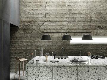 Keittiö Muuto Luonnonväri Musta Vaahtera Alumiini Plus