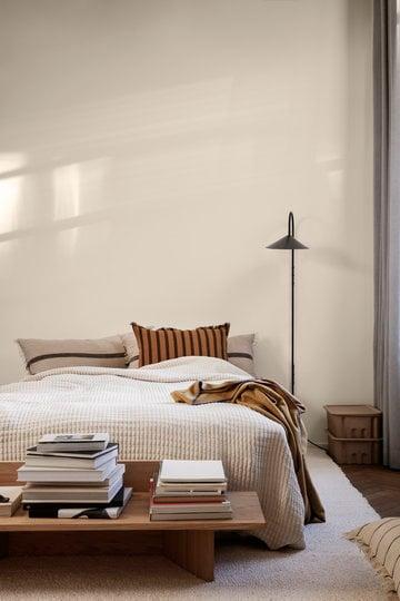 卧室Ferm生活棕色自然纸橡木棉