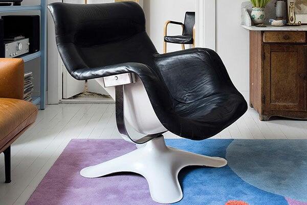 Kukkapuro's Karuselli chair as a long-time dream