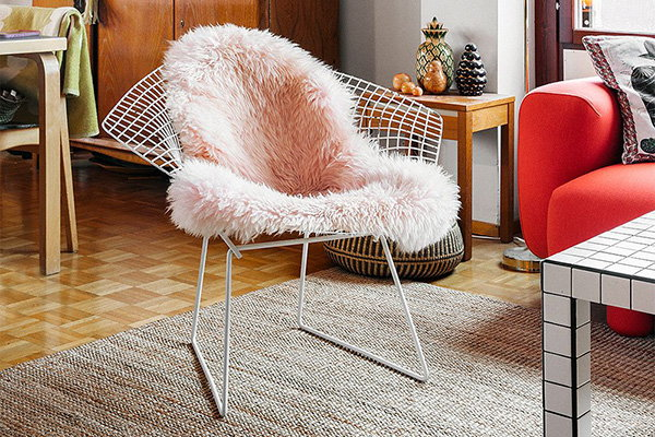 Harry Bertoia's Diamond Chair found a new home
