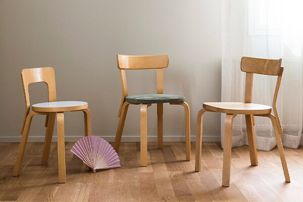 Bob W gave a new home for 120 pre-owned Artek chairs