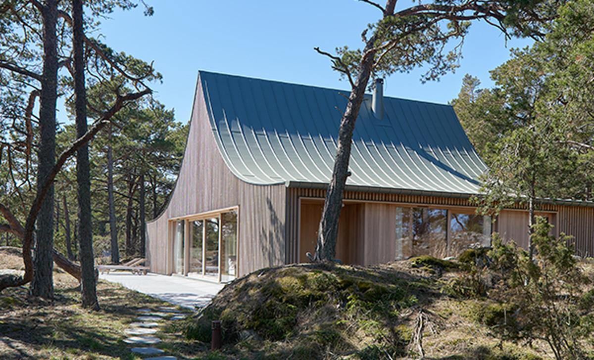 A house on Krokholmen island