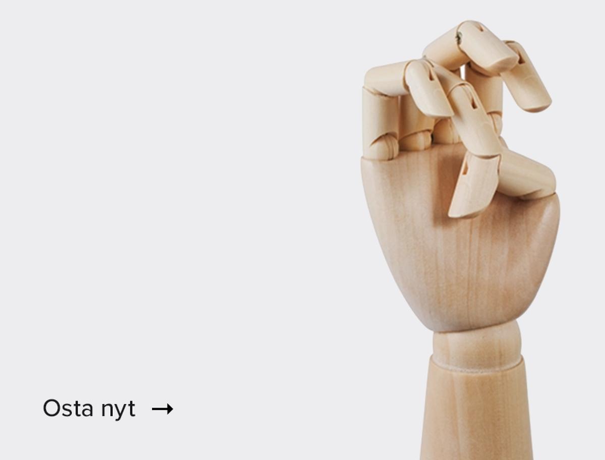 Puinen käsi<br />–20 %
