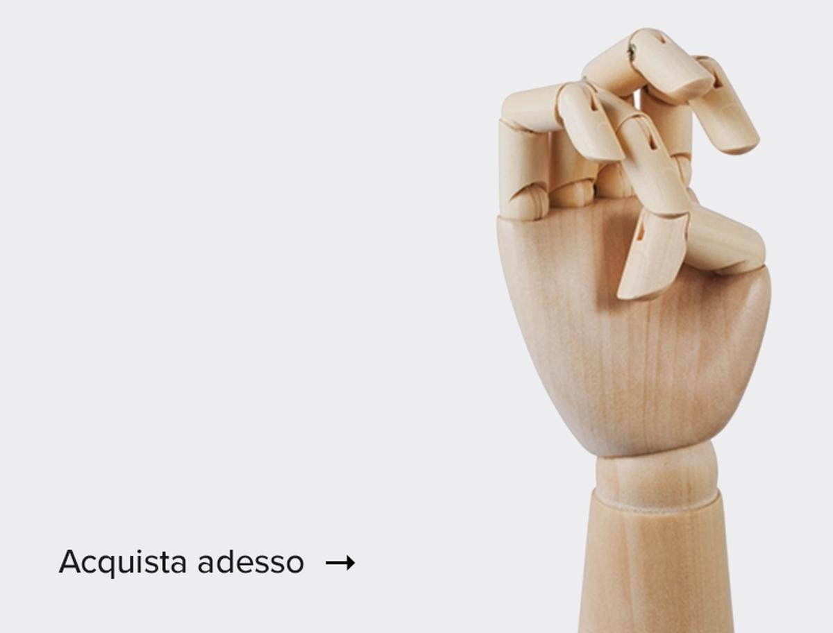 Mano di legno<br />–20%