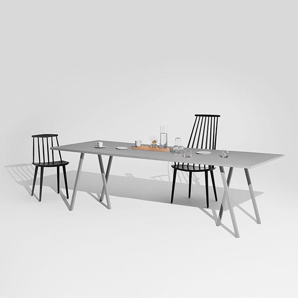 hay loop stand table 200 cm grey finnish design shop. Black Bedroom Furniture Sets. Home Design Ideas