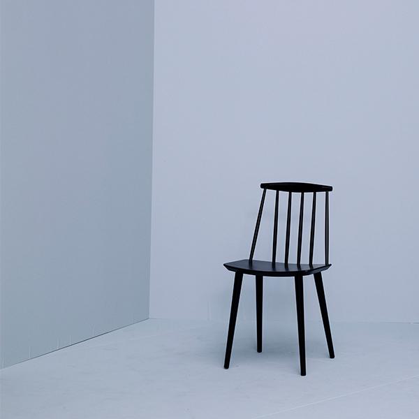 Hay sedia j77 nera finnish design shop for Sedia design nera