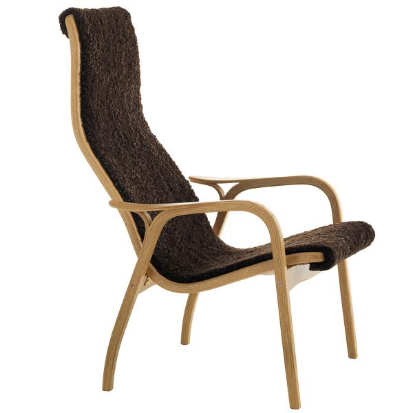 Swedese Lamino easy chair, sheepskin Finnish Design Shop
