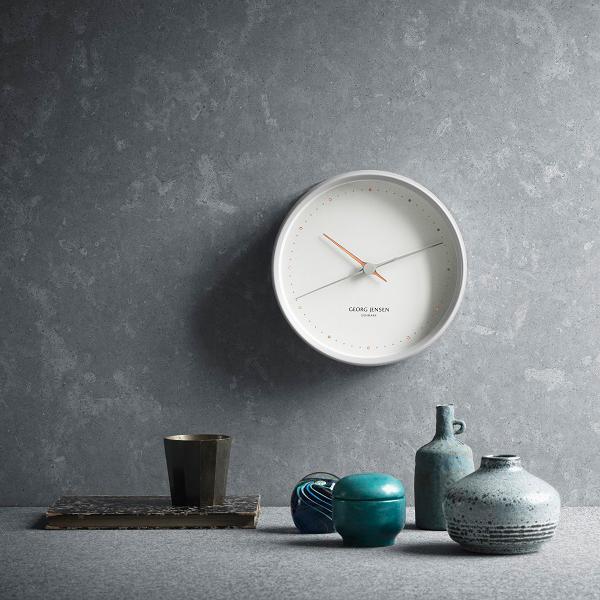 georg jensen hk kello valkoinen iso finnish design shop. Black Bedroom Furniture Sets. Home Design Ideas