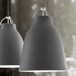 Fritz Hansen Caravaggio P2 pendant, matt dark grey