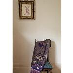 Klaus Haapaniemi Rabbit shawl 150 x 150 cm, forest