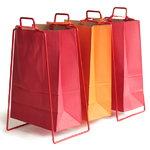 Everyday Design Helsinki paper bag holder, red