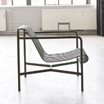 Hay Palissade lounge chair, low, anthracite