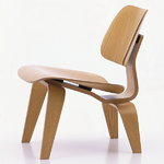 Vitra Plywood Group LCW nojatuoli, saarni