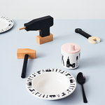 Design Letters Giocattoli in legno Tool School, 6 pz