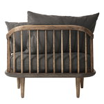 &Tradition Fly SC1 lounge chair, smoked oak - Hot madison 093