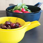 Ekobo Pronto bowl & colander set, S, lemon