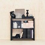 Lundia Classic open shelf, low, black