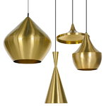 Tom Dixon Lampada Beat Light Tall, ottone