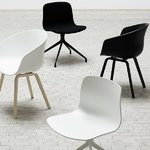 Hay About A Chair AAC22, rovere laccato opaco - bianco