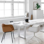 Adi 24/7 table 250 x 100 cm, white