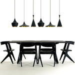Tom Dixon Beat Light Fat, black