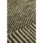 Woud Rombo matto, 90 x 140 cm, vihreä